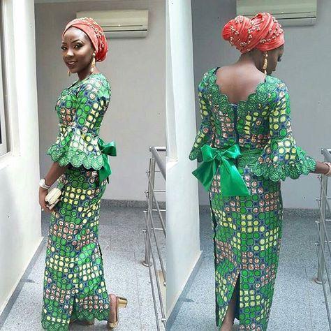 Checkout This Creative Aso Ebi Iro & Buba Style . Checkout This Creative Aso Ebi Iro & Buba Style