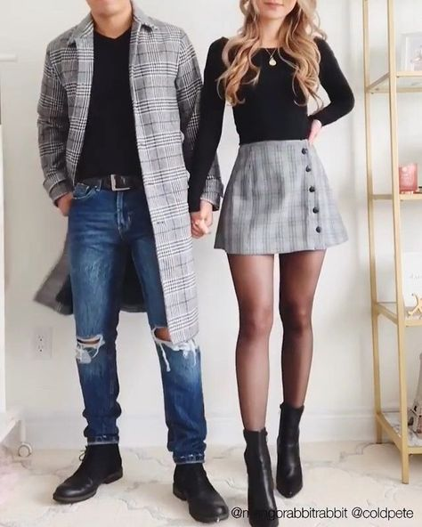 Fotoideen Couple Outfit images This text op