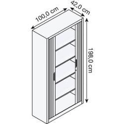 Roller Cabinets Roller Shutter Cabinets In 2020 With Images Roller Shutters Steel Doors Remodeling Tools