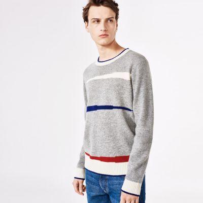 Varsity Jacquard Sweater