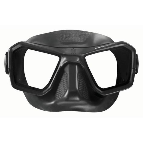 OmerSub Alien Spearfishing /& Diving Mask All Black