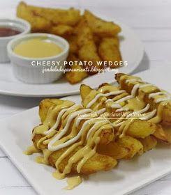 Jom Masak Potato Wedges Resepi Mudah Terlajak Sedap Di 2020 Resep Masakan Kentang Resep Makanan
