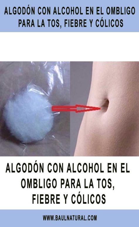 Alcohol para limpiar ombligo del bebe