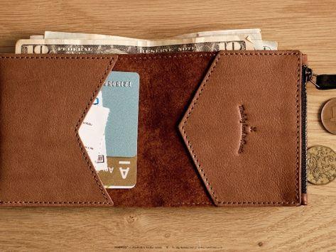 baf9355498f2 Кошелек для бумажных денег и монет своими руками: выкройки, фото. Как  сделать своими