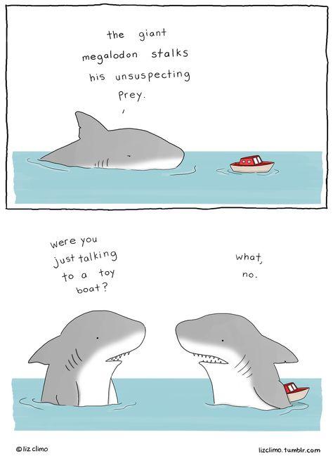 Click through... so many cute mini-comics! Liz Climo onTumblr...this really cheered me up
