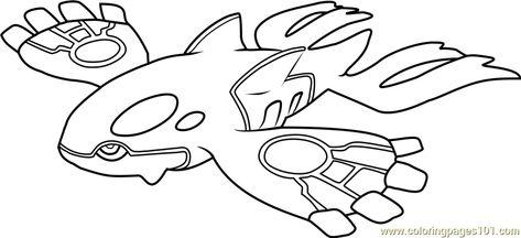 Kyogre Pokemon Para Colorir Desenhos Para Colorir Pokemon
