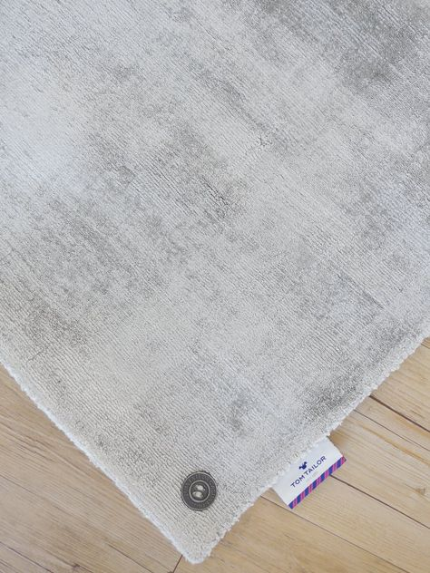 Tom Tailor Teppich Shine Silver 640 Rugs Pinterest