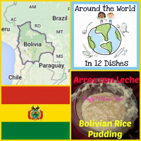 Crafty Moms Share: Around the World in 12 Dishes -- Bolivia: Arroz con Leche