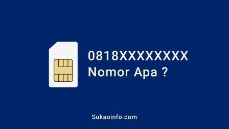 0818 Nomor Apa Internet Pengikut Kartu