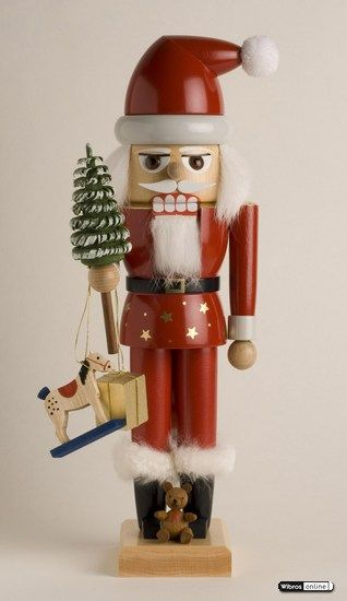 Nutcracker Santa 2007 - 29 cm / 11 inch $81.00 plus shipping