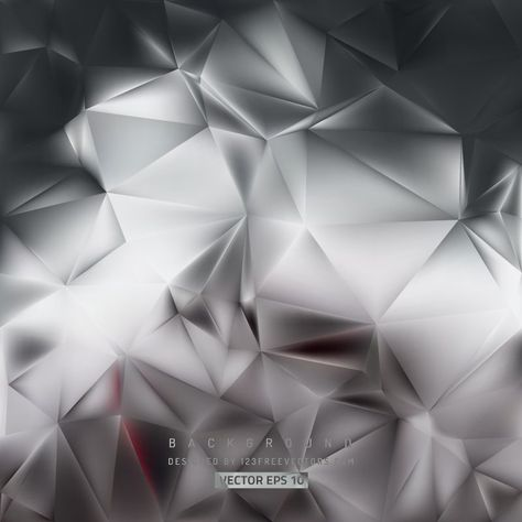 Abstract Black And Gray Polygonal Background Design Background
