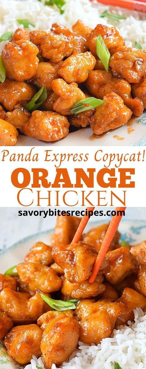 Panda Express Copycat - Orange Chicken