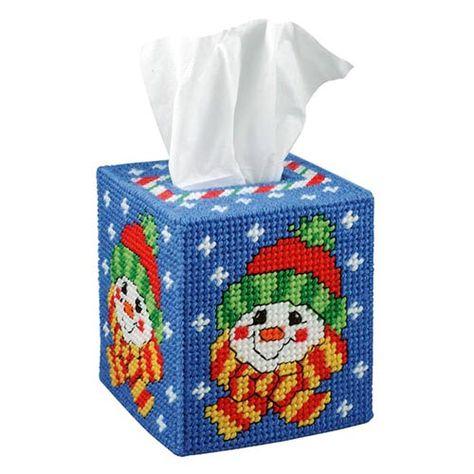 Herrschners/® Santa Smiles Plastic Canvas Kit