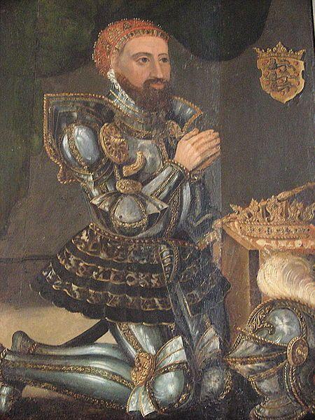Christoffer I Maleri Fra Omkring 1575 I Ribe Domkirke Jylland Christopher I Christoffer I 1219 29 May 1259 Was King Of Denmark Betw 1252 And 1259 He Wa