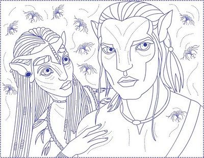 Avatar Coloring Pages For Kids Coloring Pages Free Coloring