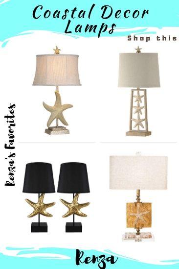 Beautiful Coastal Decor Lamps For Your Home Coastal Style Beach