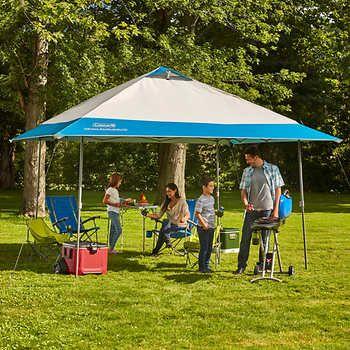 Coleman 13 X 13 Instant Eaved Shelter Gazebo Tent Backyard Canopy Gazebo