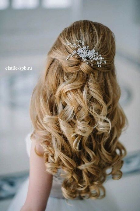 Terrific Free Half Up Half Down Hair Short Tips On Your Wedding You Would Like To Search The Prettiest In 2021 Hair Styles Kids Updo Hairstyles Glamorous Wedding Hair