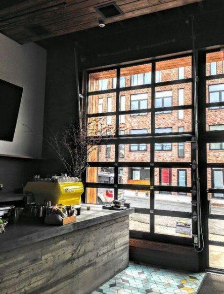 Industrial Glass Garage Door 38 Ideas For 2019 Glass Garage Door Garage Door Design Garage Doors