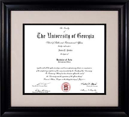 Four Cool Ways To Celebrate College Graduation Diploma Frame Double Diploma Frames Degree Frame