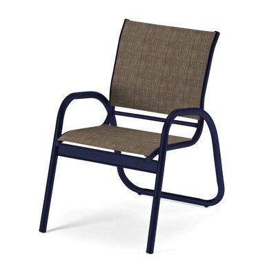 Telescope Casual Gardenella Sling Patio Dining Chair Seat Color