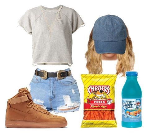 """""""Untitled #1120"""" by beautyqueen-927 ❤ liked on Polyvore featuring NSF, NIKE and Nephora"""