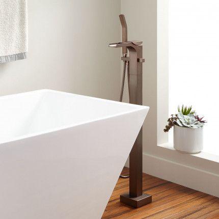 Willis Freestanding Waterfall Tub Faucet Bathtub In 2019