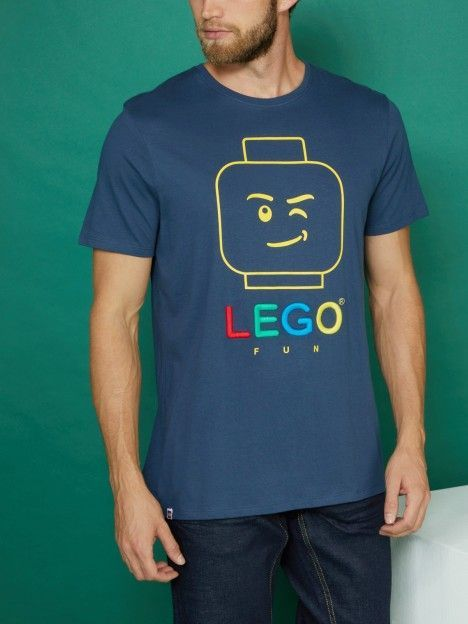 T shirt Lego En Coton LEGO Bleu marine Achat T shirt Lego