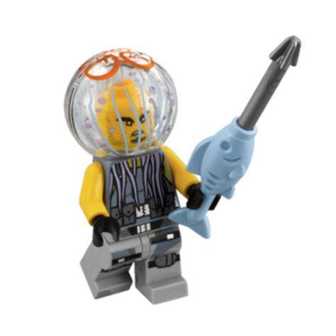 LEGO New The Ninjago Movie Hammer Head Shark Minifigure Fish Weapon