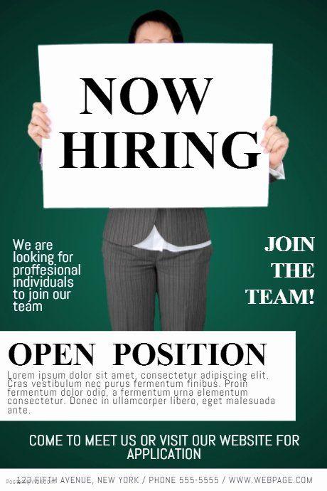 Job Flyer Template Word Lovely Now Hiring Job Fair Flyer Template Flyer Template Business Template Job Fair