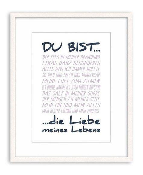 Artissimo / Poster mit Spruch Din A4 / 21x297cm / Kunstdrucke | Etsy