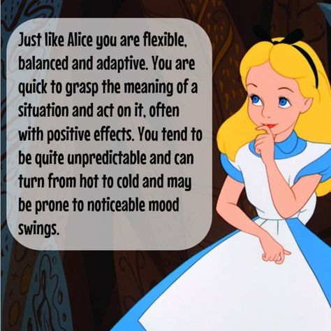 Which Disney Princess Are You Based On Your Zodiac Sign? | PlayBuzz I got Alice from Alice in Wonderland!