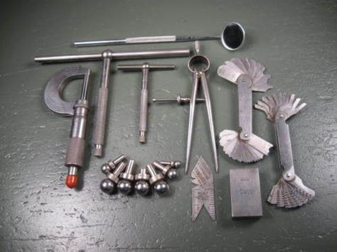 machinist hand tools. old-used-vintage-machinist-tools-machining-tool-post-lathe-rest-rare-type | ferreus pinterest machinist tools hand