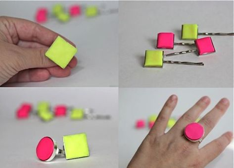 12 Neon DIY Projects {Handmade Gifts that Rock