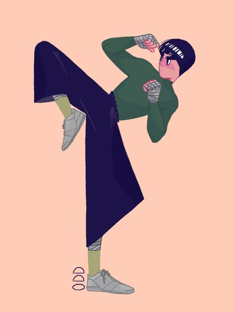 I rlly like Rock Lee