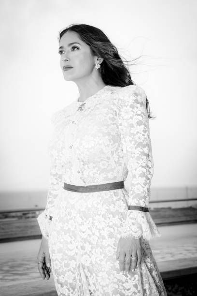 Actress Salma Hayek Is Photographed On May 13 2018 In Cannes France Salma Hayek Salma Hayek Pictures Fashion