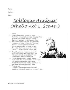 othello sparknotes translation