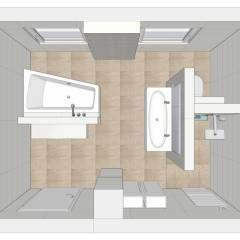 Kleines Badezimmer Modern Gestalten Grundriss Konzepte 53