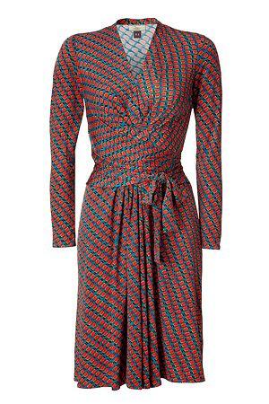 Issa Sea Silk Jersey Wrap Dress