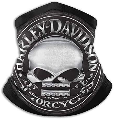 Smalaty Ha-rley Davidson Warmer Neck Gaiter Antivento Bocca Face Cover Magic Scarf Bandana Balaclava