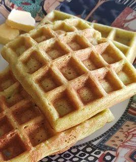 Choco Cheese Crispy Waffles Kue Lezat Makanan Dan Minuman Makanan