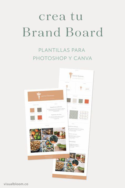 Qué es un Brand Board y para qué te sirve | Visual Bloom
