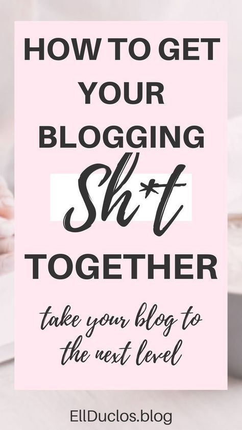 10 Blogging Goals to Turn your Blog into a Full Time Career in 2019