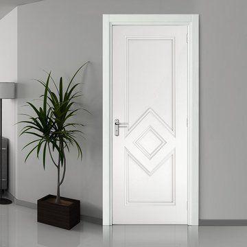 Ascot White Primed Fire Door 1 2 Hour Fire Rated In 2020 Fire Doors Door Fittings White Doors