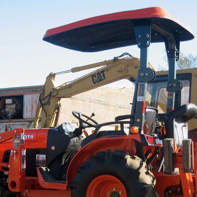 Fiberglass Canopy Kit For For Kubota Bx B Series Tractors Tractors Kubota Tractor Canopy