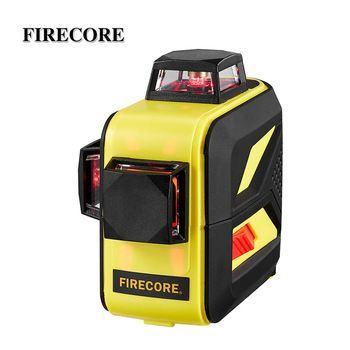 Firecore F93t Xr 12lines 3d Laser Level Lr6 Lithium Battery Self Leveling Horizontal Vertical Cross Laser Levels Vertical Lithium Battery
