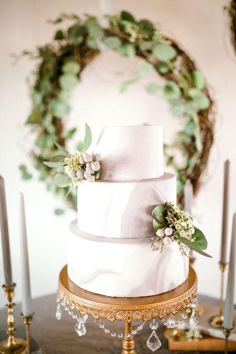 Organic Elegance Wedding Inspiration Cake Stands Created