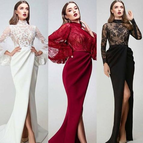 Colores De Vestidos De Fiesta Otoño Invierno 2018