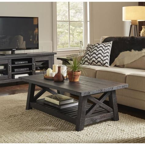 Solid Wood Coffee Table, Rustic Coffee Tables, Coffe Table, Coffee Desk, Diy Coffee Table Plans, Simple Coffee Table, Woodworking Furniture Plans, Wood Furniture, Rustic Living Room Furniture