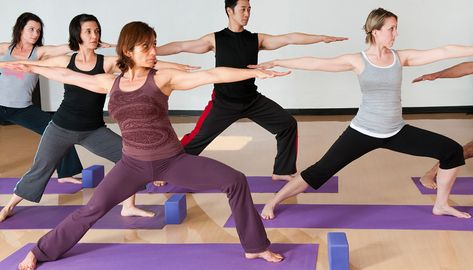 Pilates and yoga
